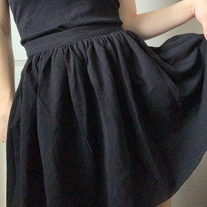 American Apparel Classic Girl Black Skirt 🎨